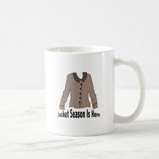 Jacket Season Coffee Mug