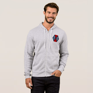 JACKET WITH HOOD BLEATED+CANVAS DESIGN ONTARIO
