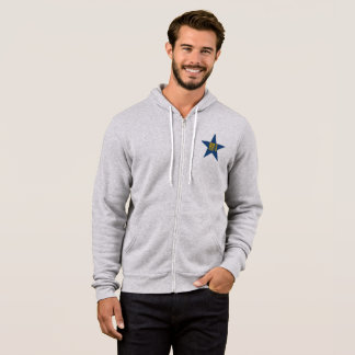 JACKET WITH HOOD BLEATED+CANVAS DESIGN SPORT 18