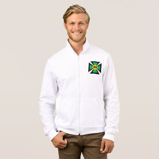JACKET WITH WHITE HOOD   DESIGN   AFRICA