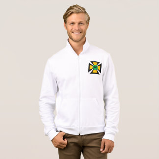 JACKET WITH WHITE HOOD   DESIGN   SPORT