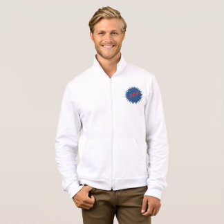 JACKET WITH WHITE HOOD      DESIGN   THE USA