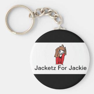 Jacketz For Jackie Keychain