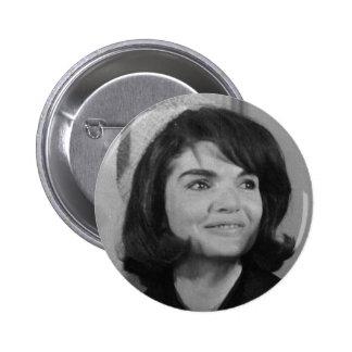 Jackie Kennedy 6 Cm Round Badge
