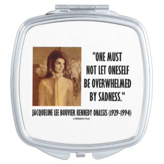 Jackie Kennedy Portrait Not Let Oneself Sadness Vanity Mirrors