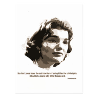 jackie Kennedy Postcard