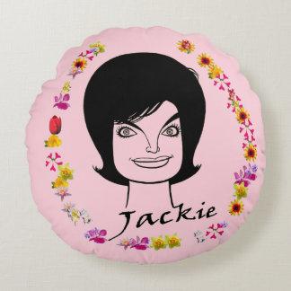 Jackie Kennedy Round Cushion
