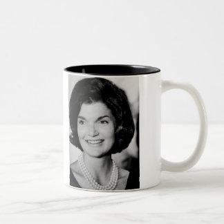 Jackie Kennedy Two-Tone Coffee Mug