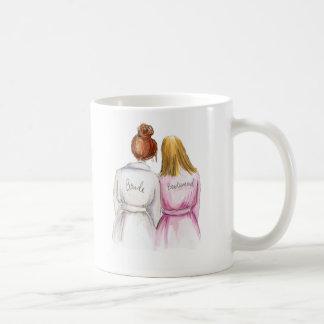 Jackie M. Custom Bridesmaid mug