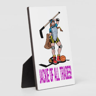 Jackie Of All Trades Display Plaques