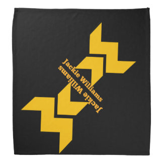 Jackie Williams Logo Bandana