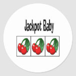 Jackpot Baby Sticker