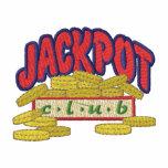 Jackpot Club Embroidered Shirt