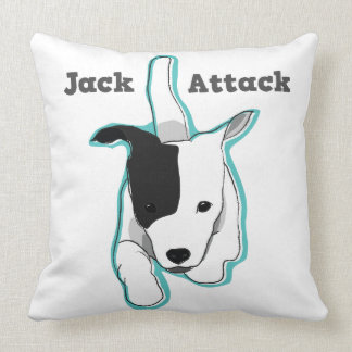 Jackpot Jack Russell Terrier Pillow