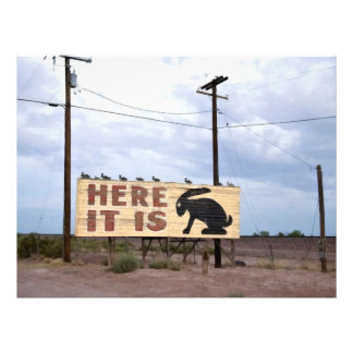 Jackrabbit Trading Post Route 66 Art Photo