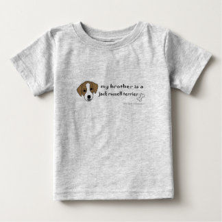 JackRussellTanBrother Baby T-Shirt