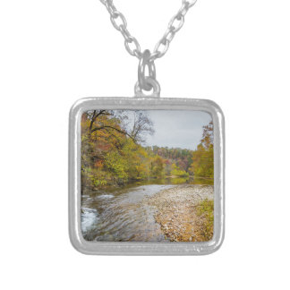 Jacks Fork Autumn Silver Plated Necklace