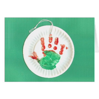 Jack's Hand Ornament Card