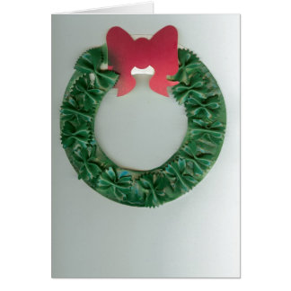 Jack's Holiday Wreath Card