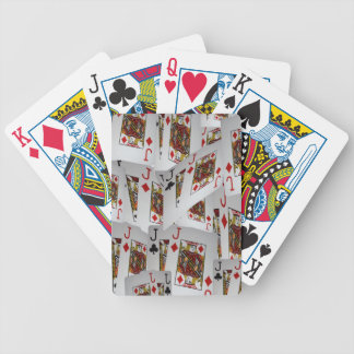 Jacks In A Layered Pattern,_ Bicycle Playing Cards