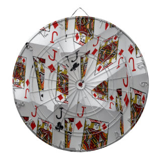 Jacks In A Layered Pattern,_ Dartboard