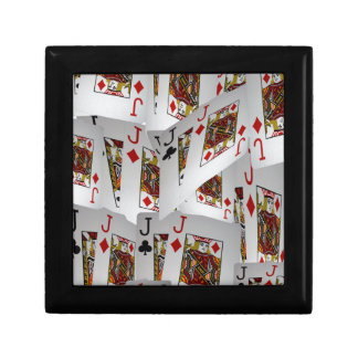 Jacks In A Layered Pattern,_ Gift Box