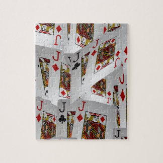 Jacks In A Layered Pattern,_ Jigsaw Puzzle