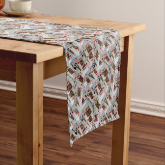 Jacks In A Layered Pattern,_ Short Table Runner