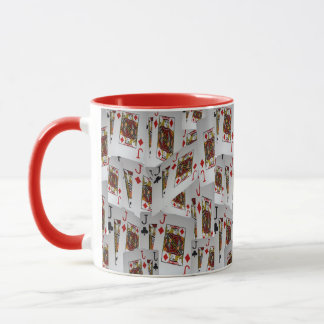 Jacks, Poker Cards, Red Combo Coffee Mug