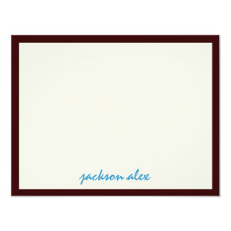 Jackson Bar Mitzvah Party Thank You Card