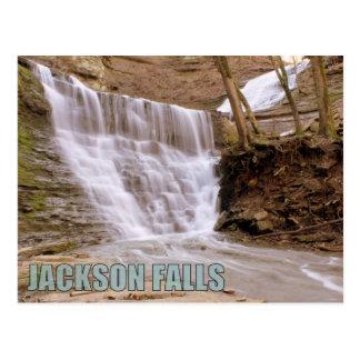 Jackson Falls, Natchez Trace Parkway, Postcard