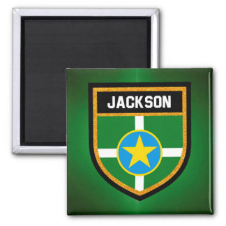 Jackson Flag Magnet