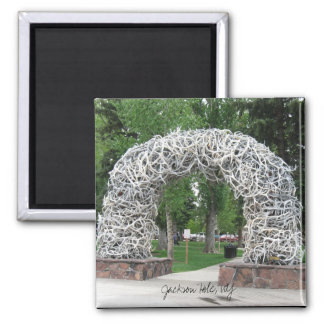 Jackson Hole Antler Arch Magnet