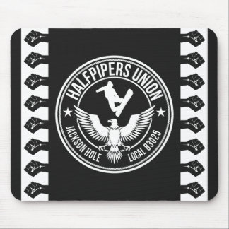 Jackson Hole Halfpipers Union Mouse Pad