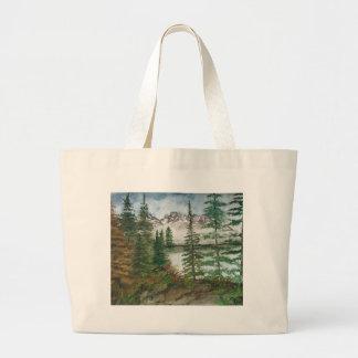 Jackson Hole Jenny Lake Large Tote Bag