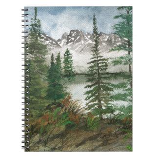 Jackson Hole Jenny Lake Notebook