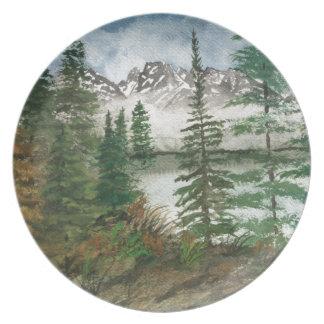 Jackson Hole Jenny Lake Plate