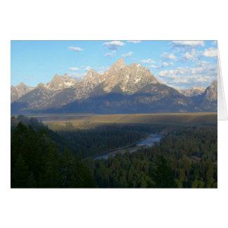 Jackson Hole Mountains Card