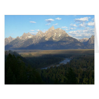 Jackson Hole Mountains (Grand Teton National Park) Card