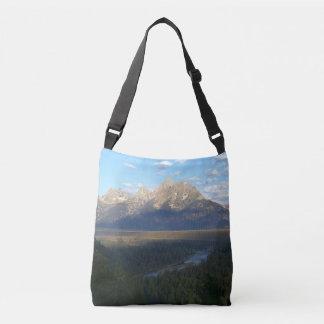 Jackson Hole Mountains (Grand Teton National Park) Crossbody Bag