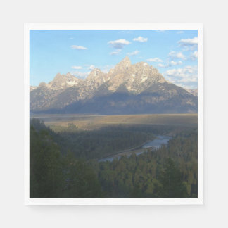 Jackson Hole Mountains (Grand Teton National Park) Disposable Serviettes