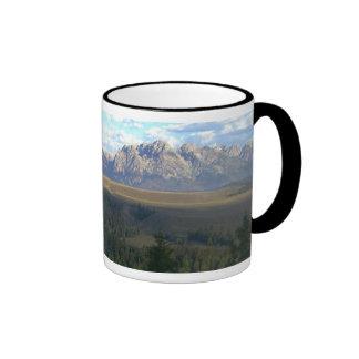 Jackson Hole Mountains, Grand Teton National Park Ringer Mug