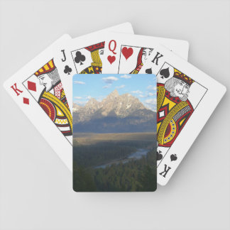 Jackson Hole Mountains (Grand Teton National Park) Playing Cards