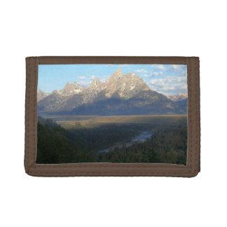 Jackson Hole Mountains (Grand Teton National Park) Tri-fold Wallet