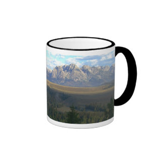 Jackson Hole Mountains Ringer Mug