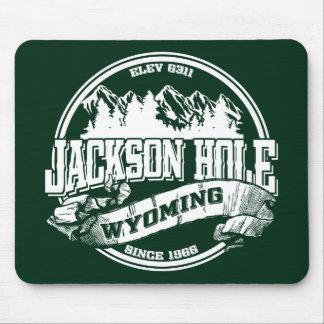 Jackson Hole Old Circle Green Mouse Pad