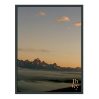 Jackson Hole photo series 2 postcard