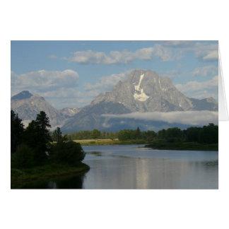 Jackson Hole River Card