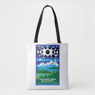 Jackson Hole Solar Eclipse Tote Bag