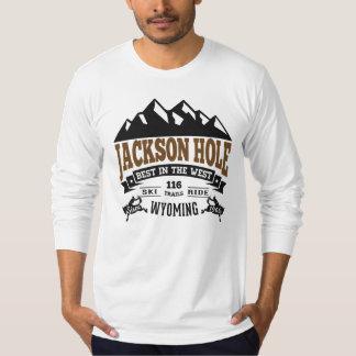 Jackson Hole Vintage Mocha Tees
